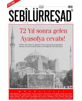 S 1055 - SEBİLÜRREŞAD DERGİSİ AĞUSTOS 2020