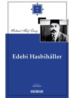 SB009/ EDEBİ HASBİHÂLLER - MEHMET ÂKİF ERSOY