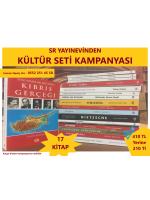 17 Kitap - Kültür Seti - Kampanya